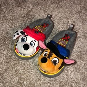 Other - Paw Patrol toddler slippers- 5/6